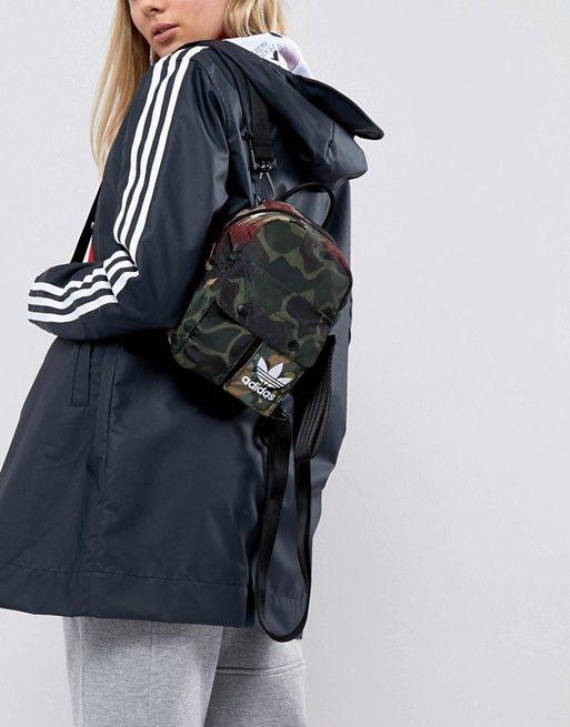 adidas Originals X Pharrell Williams Hu Camo Mini Backpack