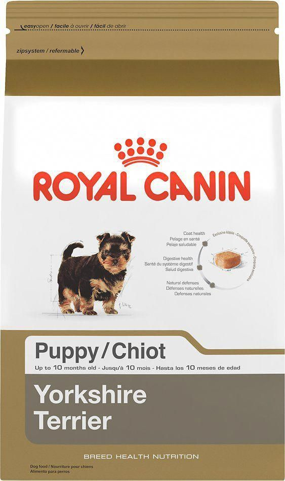 Royal Canin Yorkshire Terrier Puppy Dry Dog Food 2 5 Lb Bag Chewy Com Yor Yorkshire Terrier Puppies Yorkshire Terrier Puppy Yorkie Yorkie Yorkshire Terrier