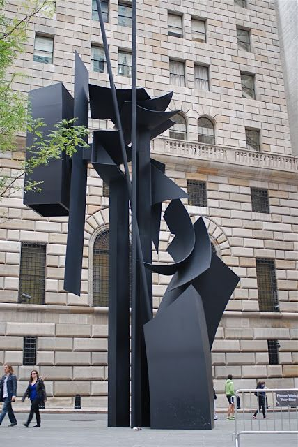 NYC ♥ NYC: Louise Nevelson's Sculptures In The Newly Renovated Plaza Named After The Artist