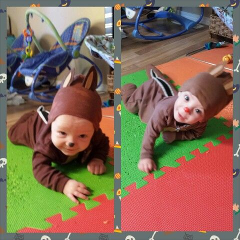 chip and dale halloween costumes i made for my twins nikolas pinterest