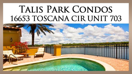 Talis Park Condos For Sale: http://www.naplesluxurygolfrealestate.com/talis-park-real-estate/  Now available for private showings through The Cabral Group of Naples Luxury Golf Real Estate, this three bedroom attached villa is located at 16653 Toscana Circle, Unit 703, and boasts more than 3,150 square feet of air conditioned living area, a private saltwater pool and spa, and breathtaking waterfront views which overlook Talis Park's signature Venetian-style canal.