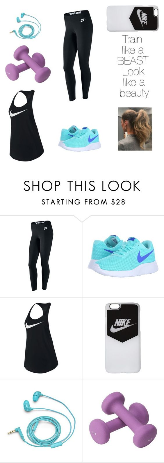 """""""Good workout outfit;)"""" by minnie2013 ❤ liked on Polyvore featuring NIKE and FOSSIL"""