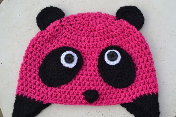 Crochet in Color: The Pink Panda