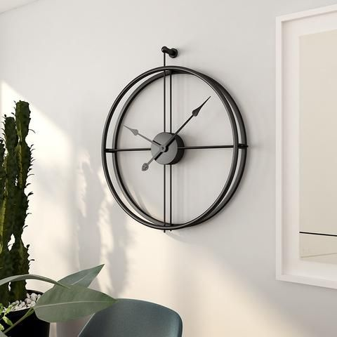 Simple And Minimal But Timeless Elegant Clock Inspired By The Meaning Of Life And Time We Re Minimalist Wall Clocks Wall Clock Modern Frames On Wall