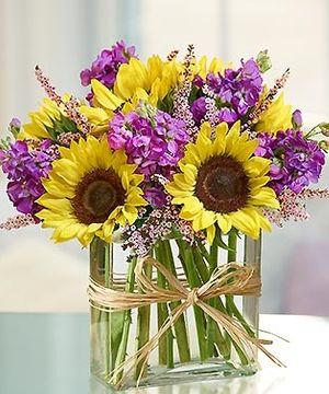 Sunflowers Unique Flower Arrangements Carithers Florist