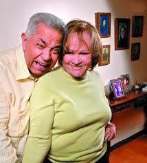 Graterolacho junto a su amada esposa Lourdes de Graterol.