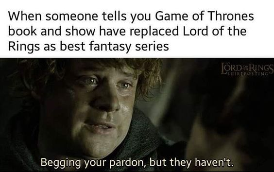 Instagram photo by ~~LOTR memes~~ • Apr 14, 2019 at 1:37 PM