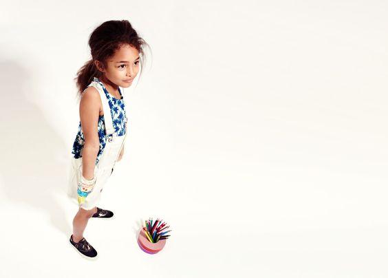 Zara Kids #tropical #azul #MALHAS
