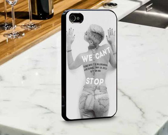 Miley Cyrus Can't Stop for iPhone and Samsung Case by mulailagi