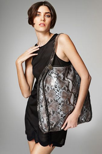 Stella McCartney Falabella Phython Print Bag