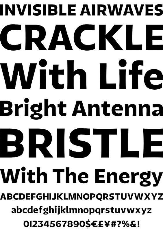 Tikal Sans by LatinoType - Desktop Font, WebFont and Mobile Font - YouWorkForThem