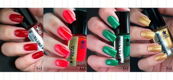 São 85 cores de esmaltes, são vibrantes e com nomes irreverentes, sabe de quais esmaltes estou falando? Clica na foto para conferir!!!  http://fascinioporesmaltes.com/swatch-esmalte-se-preta-gil-4