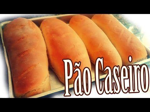 ▶ Receita de Pão Caseiro | By Luana Carolina - YouTube