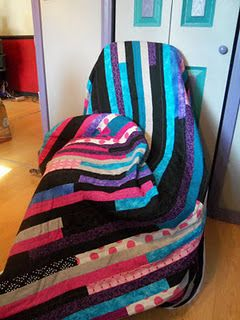 Jelly Roll Race Quilt #6