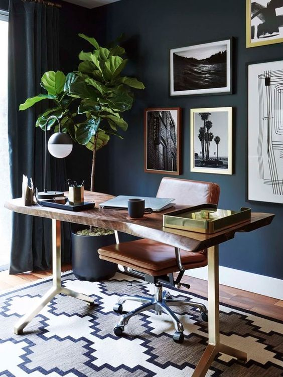 Mindful living inspiration and home office design
