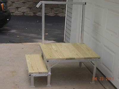 Best Portable Rv Deck With Steps And Railings Travel Decks 640 x 480