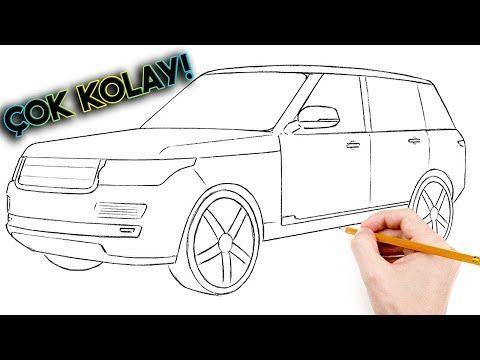 5 Dakikada Basit Araba Cizimi Jip Cizimi Kolay Araba Cizme How To Draw Range Rover Youtube Araba Araba Sanati Jipler