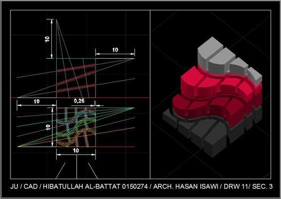 Taboosh Leeالرسم المعماري بالحاسوب/ computer architectural drawing: