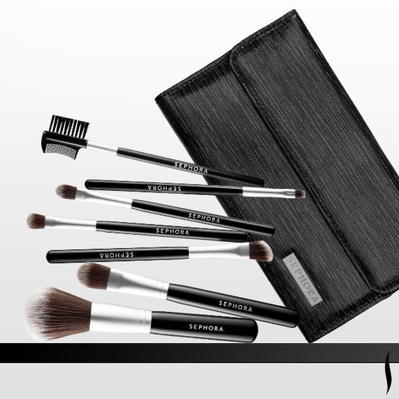 Sterilized and given an antibacterial treatment for lasting hygiene, this complete set of brushes is perfect for travel. Shop #SEPHORA COLLECTION Luxe Anti-Bacterial Brush Set #BrushingUp