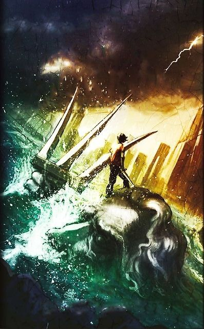 Book Thief Cover Art : New percy jackson and the olympians book cover for