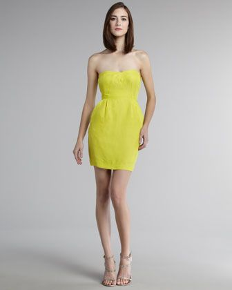 Stunning Strapless Dress by Rebecca Taylor