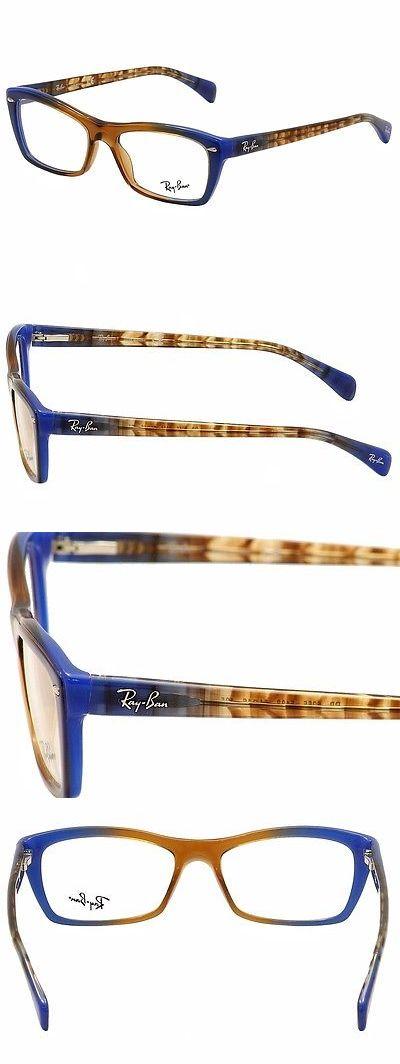 where can i buy ray ban eyeglass frames  eyeglass frames: ray ban womens eyeglasses rb5255 rb/5255 5488 brown rayban optical frame