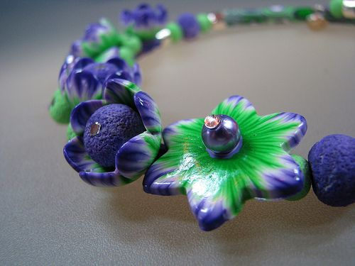 necklace | it`s springtime | maria theresia Bizai | Flickr