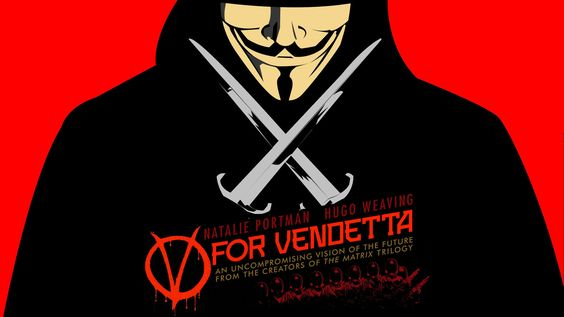 "V For Vendetta""  The Movie And These Days"