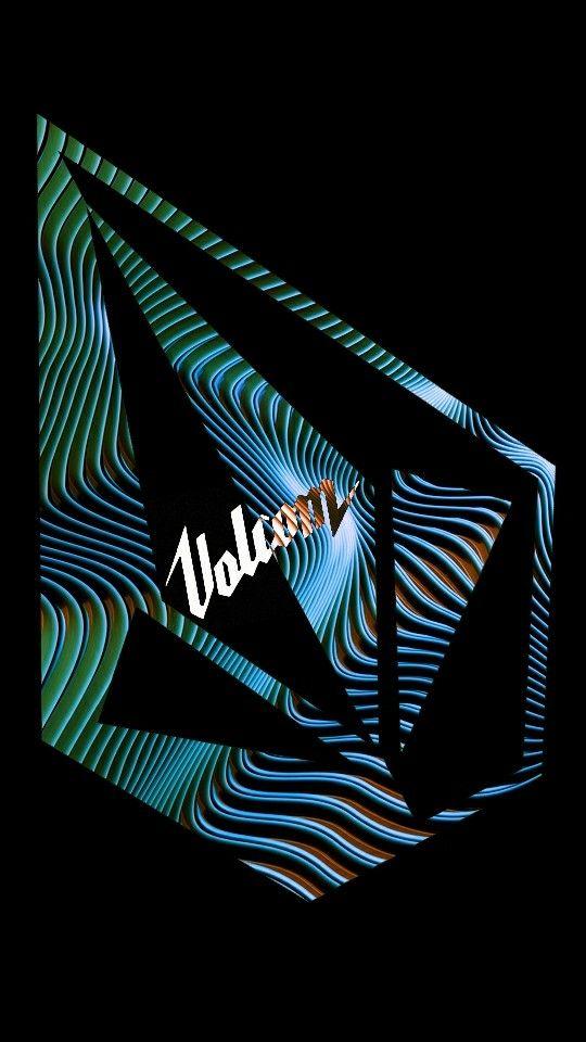 Volcom Wallpaper Surf Art Skate Stickers Colorful Wallpaper