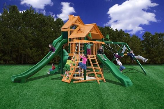 Gorilla Playset Cedar Big Skye II Swing Set, Price: $3,899.25  (Current Special Price of $3,399.00!)