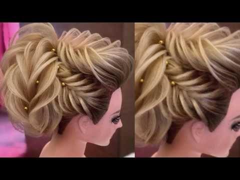 Jura Design Collection Bun Hairstyle For Wedding Jura Hairstyle For Party Youtube Party Bun Hairstyles Wedding Bun Hairstyles Bun Hairstyles