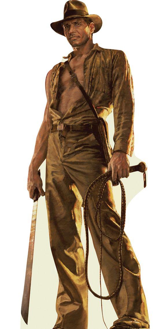 "Indiana Jones, from the ""Indiana Jones""-series."