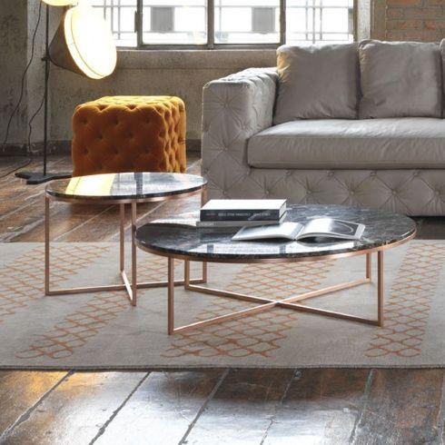 Porto Round Marble Coffee Table | interiors / exteriors /details ...