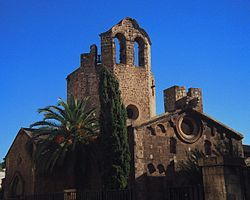 Sant Pau del Camp- the monastery is first documented in 977