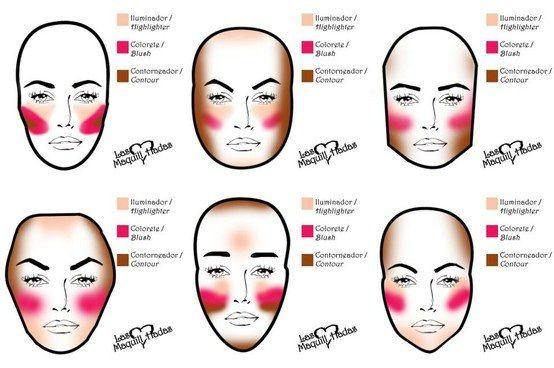 como maquillarse paso a paso buscar con google makeup pinterest makeup contours and fancy makeup - Como Maquillarse Paso A Paso