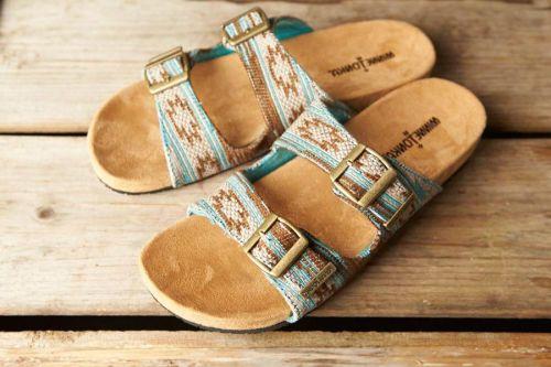 Minnetonka Moccasin, Gypsy, Turquoise Sandals