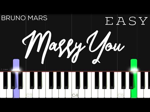 Bruno Mars Marry You Easy Piano Tutorial Youtube Piano Tutorial Easy Piano Piano Tutorials