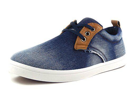 Herren Sneaker Denim Jeans Vintage Used Look - (Schuhe fallen etwas kleiner aus) - http://on-line-kaufen.de/fugo/herren-sneaker-denim-jeans-vintage-used-look-aus