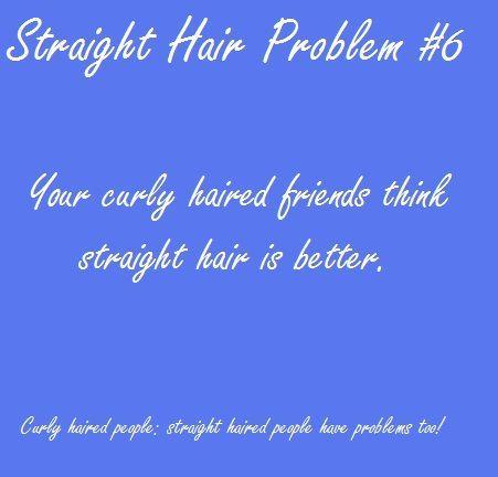 Straight Hair Problems (http://pinterest.com/thenailguru/straight-hair-problems/)