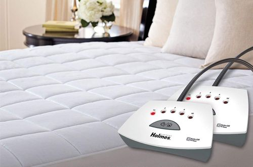 Top 10 Best Electric Heated Mattress Pads Reviews In 2020