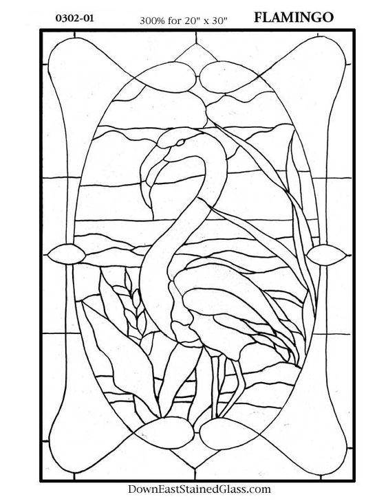 Big Daffodil Glass Stain Window