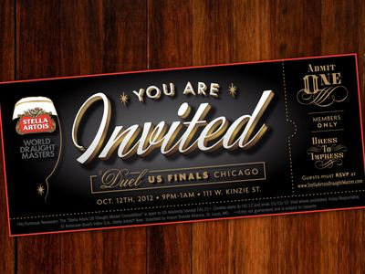 Special Event Ticket Design Style Pinterest – How to Design a Ticket for an Event