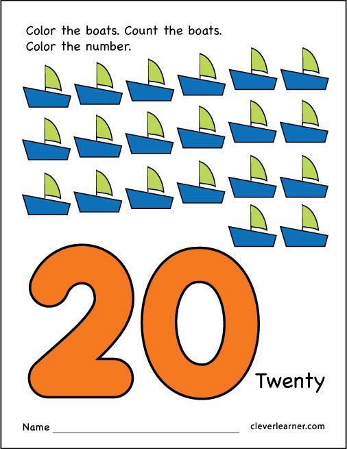 Free Number 20 Practice Sheet Letter Worksheets For Preschool Preschool Worksheets Text Structure Worksheets Free preschool worksheets numbers 20