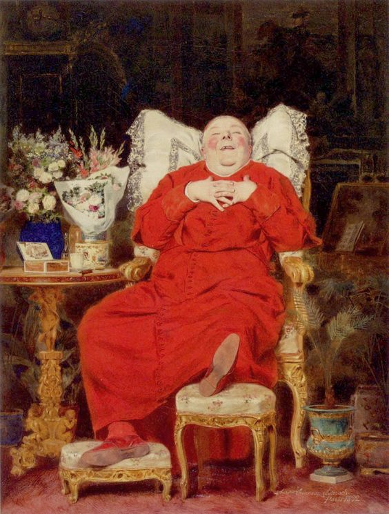 Antonio Salvador Casanova Y Estorach(1847-1896) —  A happy birthday,1892  (757×1000):