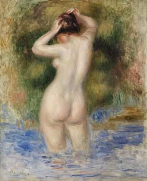 Pierre-Auguste Renoir, Bather (Baigneuse), 1890: