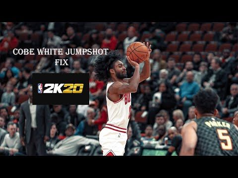 Cobe White Signature Jumpshot Fix 2k20 Youtube In 2020 Signature Nba Players Pull Ups