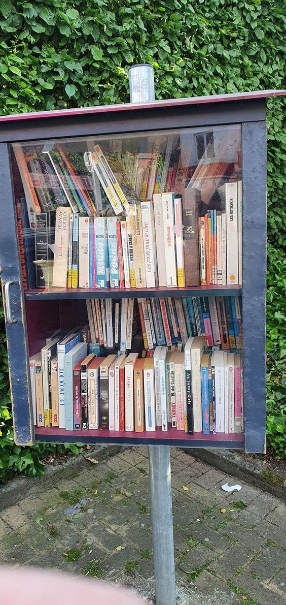 Boîte à livres Morlanwelz