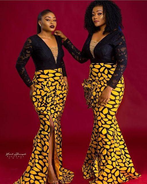 2019 Elegant Ankara Long Gown to Try