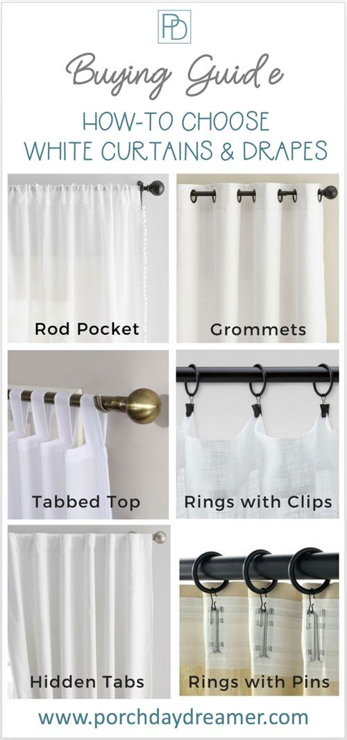 Buying White Curtains Or Drapes Here Is Your Guide White
