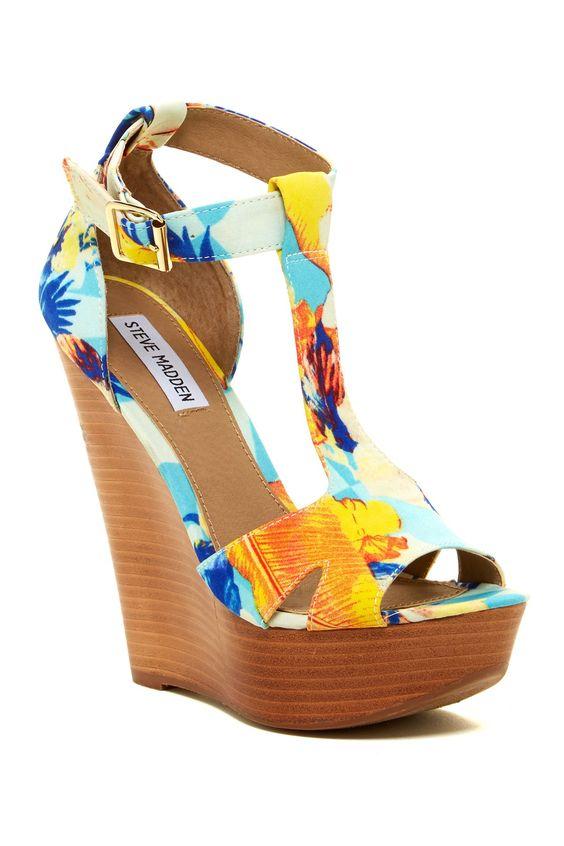 Floral sandal